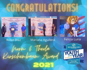 Norm & Theola Award 2021