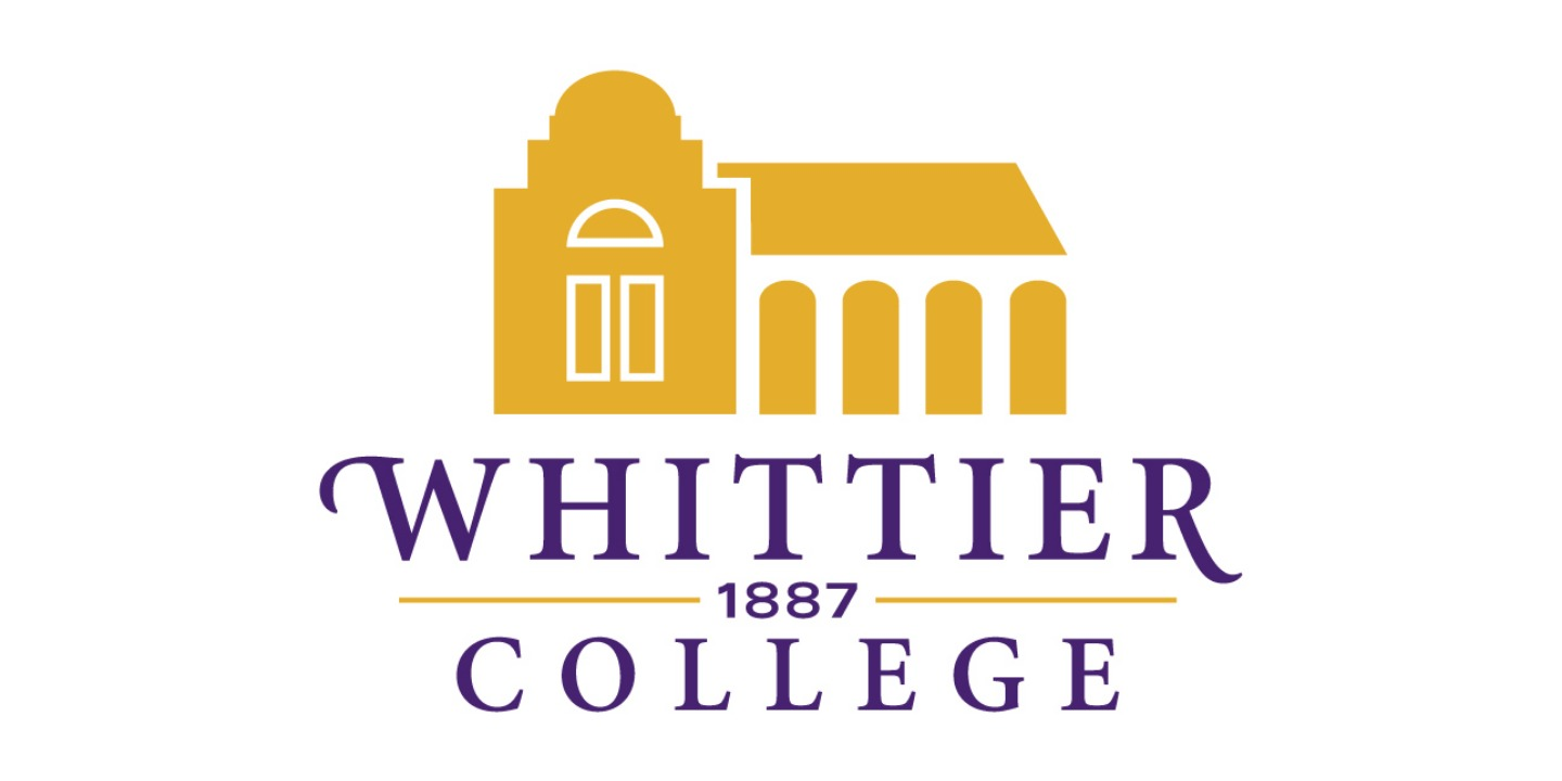 Whittier college logo with yellow building